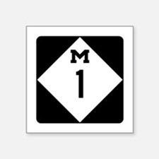 Woodward Avenue Route Shield - M1 Sticker
