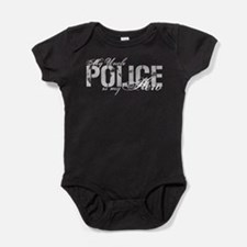 Cute Military police Baby Bodysuit