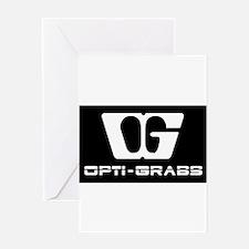 Opti-Grab dark AD Greeting Cards
