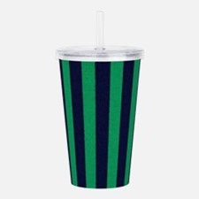 Classic green and dark Acrylic Double-wall Tumbler