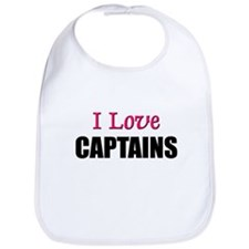 I Love CAPTAINS Bib