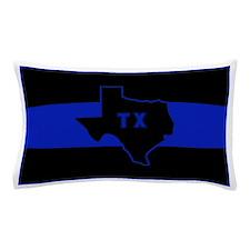 Thin Blue Line - Texas Pillow Case