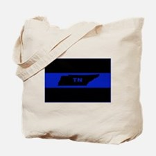 Thin Blue Line - Tennessee Tote Bag
