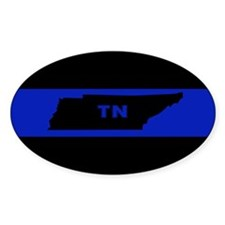 Thin Blue Line - Tennessee Decal