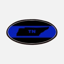 Thin Blue Line - Tennessee Patch