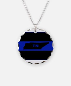 Thin Blue Line - Tennessee Necklace
