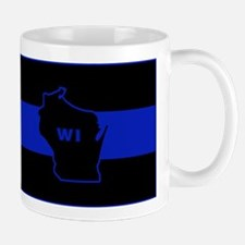 Thin Blue Line - Wisconsin Mugs