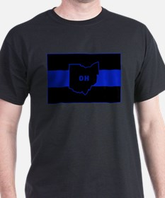 Thin Blue Line - Ohio T-Shirt