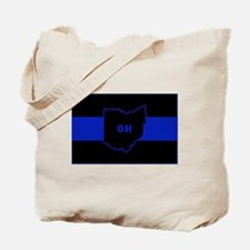 Thin Blue Line - Ohio Tote Bag