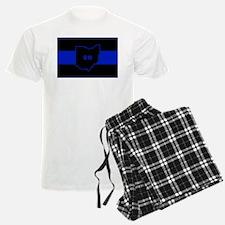 Thin Blue Line - Ohio Pajamas
