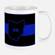 Thin Blue Line - Ohio Mugs