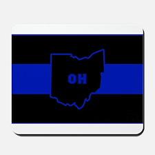 Thin Blue Line - Ohio Mousepad