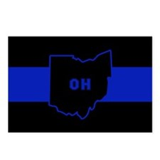 Thin Blue Line - Ohio Postcards (Package of 8)