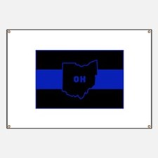 Thin Blue Line - Ohio Banner