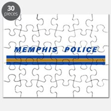 Memphis Police Car Graphics Puzzle