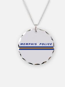 Memphis Police Car Graphics Necklace