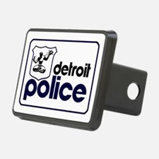 Old Detroit Police Logo Hitch Cover