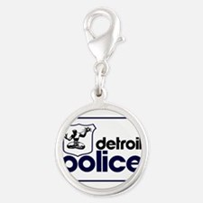 Old Detroit Police Logo Charms