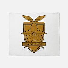 Mad Max MFP Badge Throw Blanket