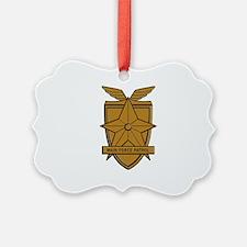 Mad Max MFP Badge Ornament
