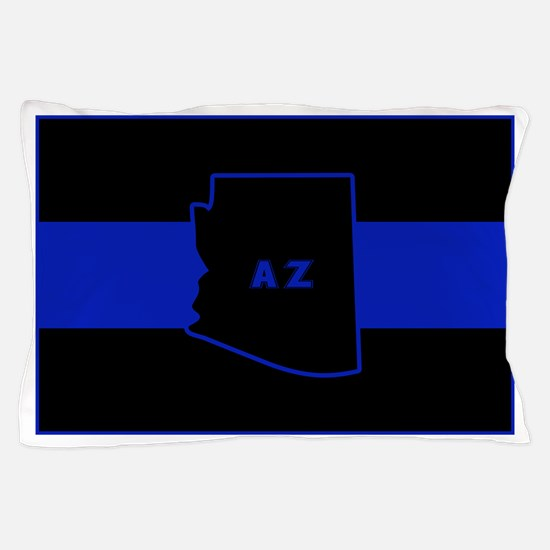 Thin Blue Line - Arizona Pillow Case