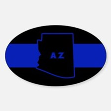 Thin Blue Line - Arizona Decal