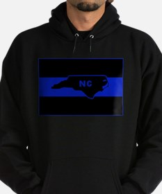 Thin Blue Line - North Carolina Hoodie (dark)
