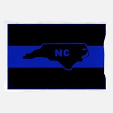 Thin Blue Line - North Carolina Pillow Case