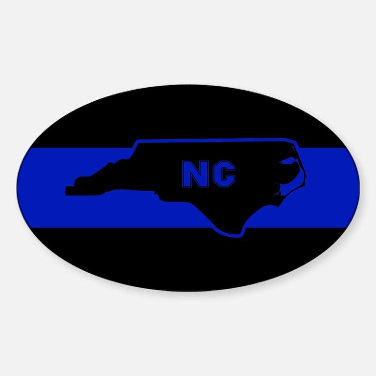 Thin Blue Line - North Carolina Decal
