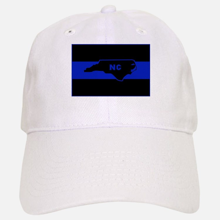 Thin Blue Line - North Carolina Baseball Baseball Cap
