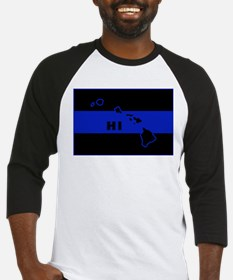 Thin Blue Line - Hawaii Baseball Jersey