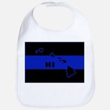 Thin Blue Line - Hawaii Bib
