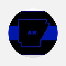 Thin Blue Line - Arkansas Button