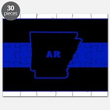 Thin Blue Line - Arkansas Puzzle