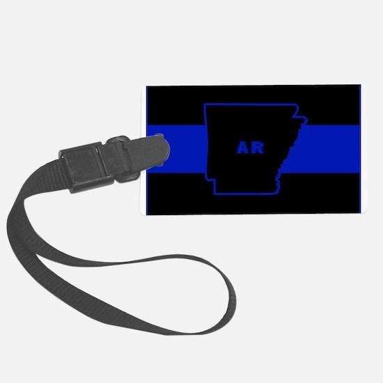 Thin Blue Line - Arkansas Luggage Tag