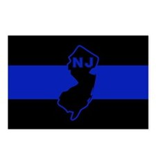 Thin Blue Line - New Jers Postcards (Package of 8)