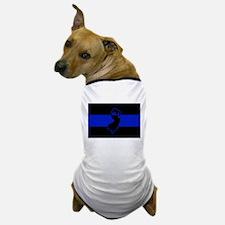 Thin Blue Line - New Jersey Dog T-Shirt