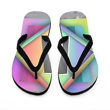Rainbow Splash A Flip Flops