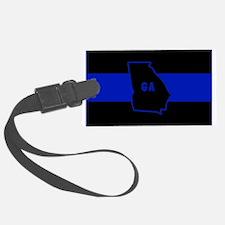 Thin Blue Line - Georgia Luggage Tag