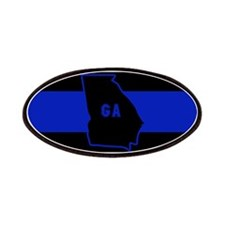 Thin Blue Line - Georgia Patch