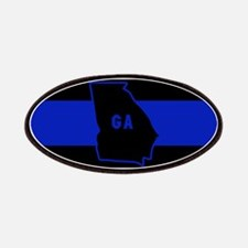 Thin Blue Line - Georgia Patch