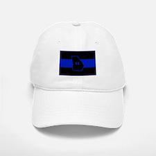 Thin Blue Line - Georgia Baseball Baseball Cap