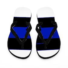 Thin Blue Line - Georgia Flip Flops