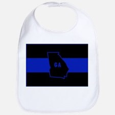Thin Blue Line - Georgia Bib
