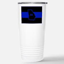Thin Blue Line - Georgi Stainless Steel Travel Mug