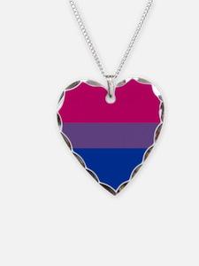 Bisexual Pride Flag Necklace