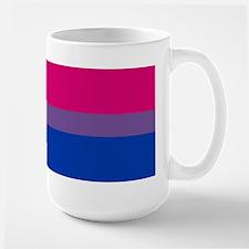 Bisexual Pride Flag Large Mug