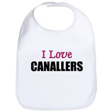 I Love CANALLERS Bib