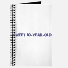 Sweet 10-Year-Old Journal