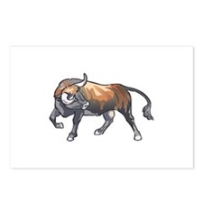 BULL Postcards (Package of 8)